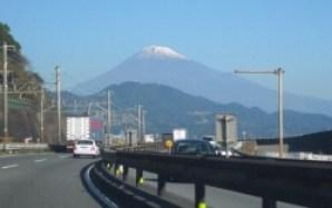 通勤途中の富士山(薩多=さった峠付近)