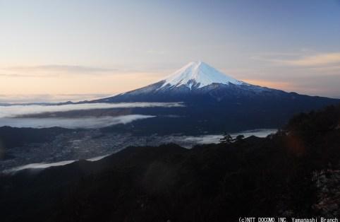 富士山2009年12月12日(AM7:00)