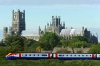 Trem na Inglaterra/ Crédito Rail Europe