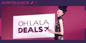 """Air France trouxe a """"Oh La La Deals"""" para o mercado brasileiro"""
