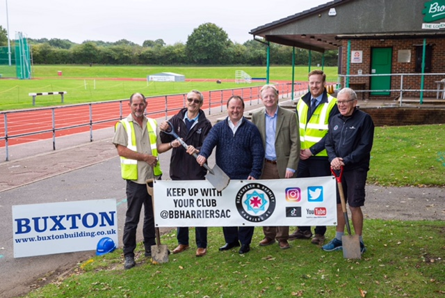 Work on Blackheath & Bromley Harriers' new Community Sports and Recreation Centre at Norman Park has begun