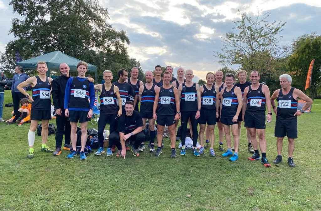 Swanley Kent League Cross Country – Senior Mens Report