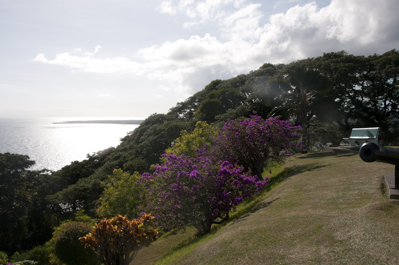 A view from Fort George, Scarborough, Tobago.