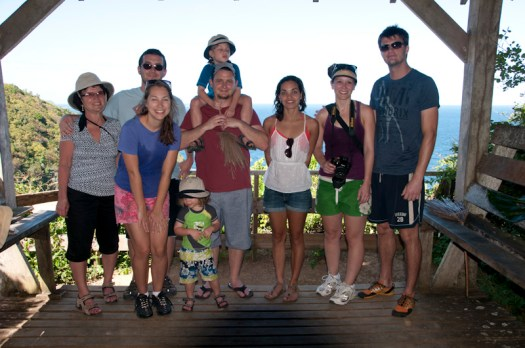 Our family on Little Tobago