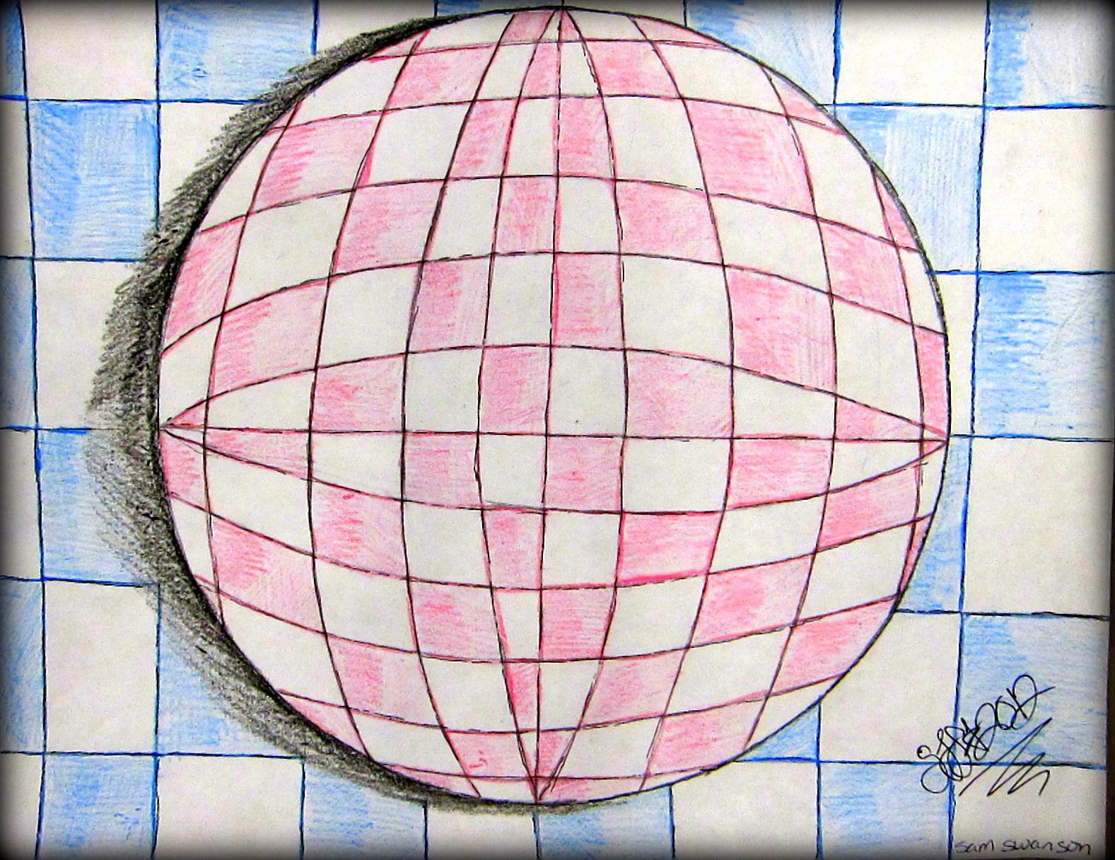 2d Art Optical Illusion Art