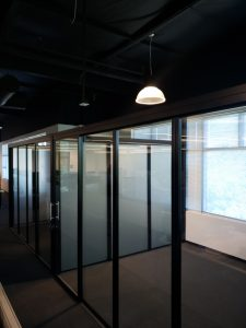 Glass Wall panel