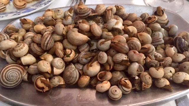 Escargots au portugal