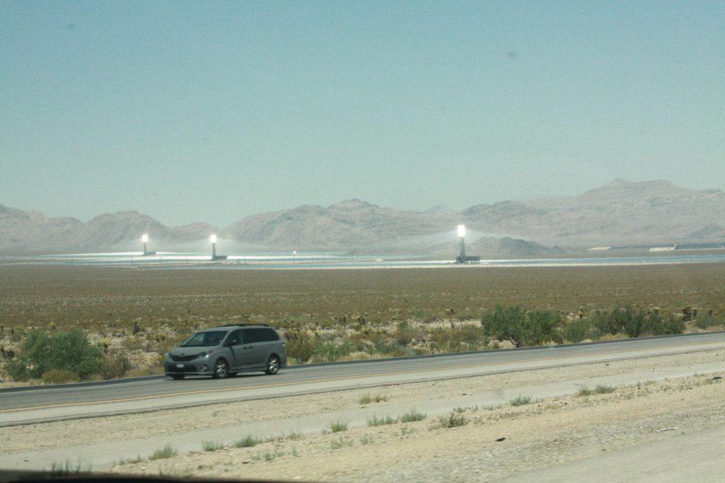 Désert du Nevada en famille
