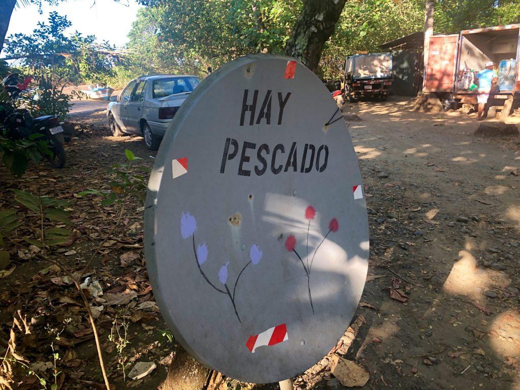 Acheter son poisson frais chaque matin à Playa Bejuco