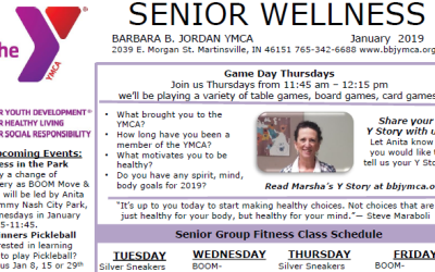 January 2019 Senior Newsletter