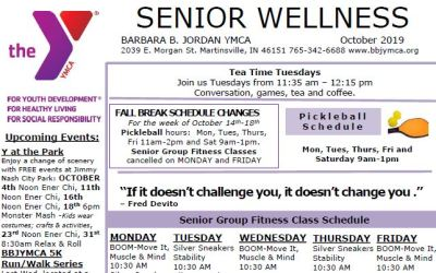 October 2019 Senior Newsletter