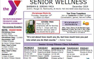 December 2019 Senior Newsletter