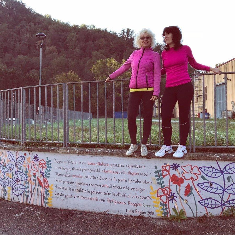 Murale di Ortignano