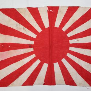 M003. WWII JAPANESE RISING SUN WAR FLAG