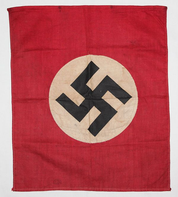 M005. SMALL WWII GERMAN NATIONAL FLAG