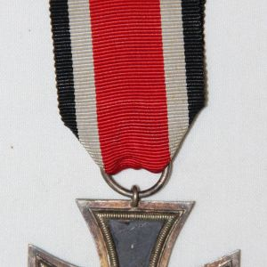 Q011. WWII GERMAN 2ND CLASS IRON CROSS W/ RIBBON
