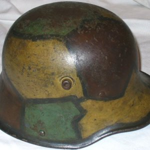 B. WWI U.S. & GERMAN, HELMETS, UNIFORMS, FIELD GEAR, MEDALS, BADGES, PATCHES, PAPER, KNIVES, BAYONETS, GROUPINGS