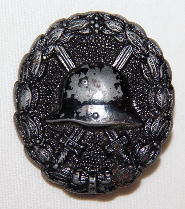 B003. WWI GERMAN WOUND BADGE IN BLACK
