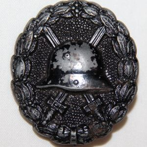 B003. WWI GERMAN WOUND BADGE IN BLACK