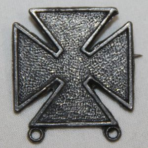 H012. WWII WARTIME CONSERVATION LEAD MARKSMAN BADGE, PIN BACK
