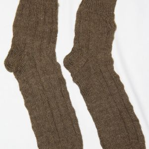 B008. RARE PAIR OF WWI U.S. KNIT WOOL FIELD SOCKS