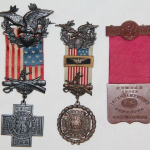 A. PRE WWI, MEDALS, UNIFORMS, HEADGEAR, FIELD GEAR, PAPER, KNIVES, BAYONETS, GROUPINGS