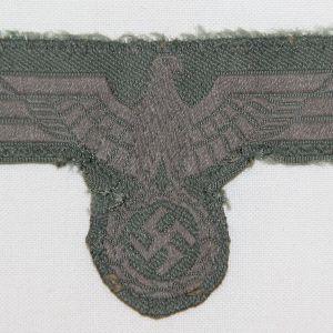 O.017. WWII GERMAN ARMY EM/NCO BREAST EAGLE