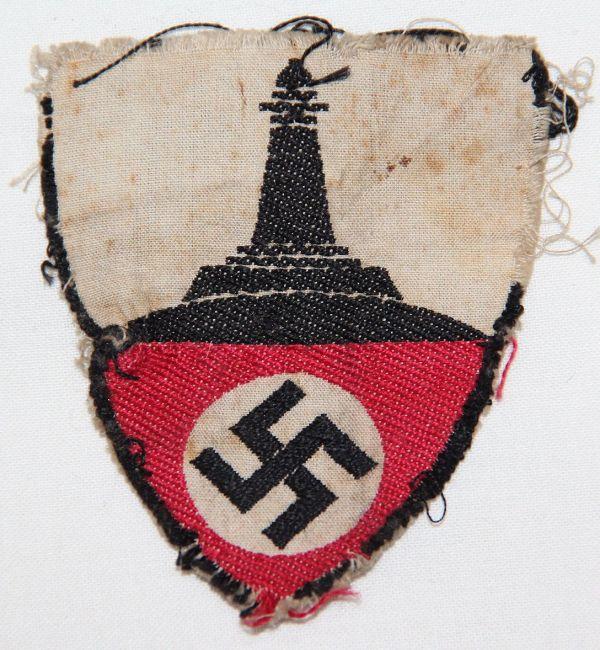 O.024. WWII GERMAN DRKB MEMBERSHIP ARMBAND INSIGNIA