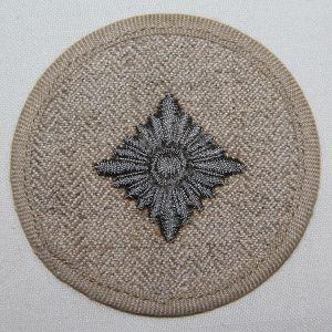 O.115. WWII GERMAN DRILL UNIFORM OBERSCHUTZE RANK INSIGNIA