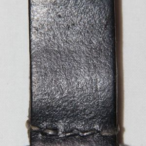 M070. WWII GERMAN D-RING LEATHER BELT LOOP