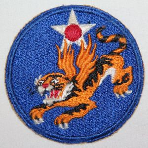 G160. WWII 14TH AAF PATCH