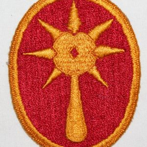 G015. WWII 108TH INFANTRY DIVISION GHOST, PHANTOM PATCH