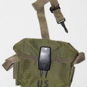 T008. VIETNAM M16 CLIP POUCH, 1969 DATED