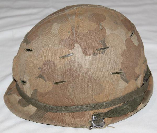 T030. UNTOUCHED VIETNAM OFFICERS M1 HELMET SET