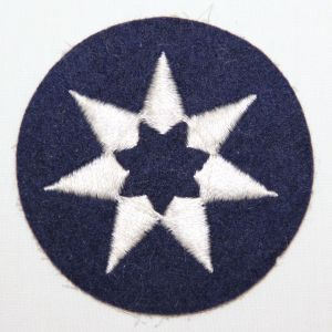 G036. EARLY WWII FELT 7TH SERVICE COMMAND PATCH