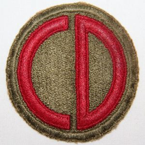 G043. WWII 85TH INFANTRY DIVISION PATCH