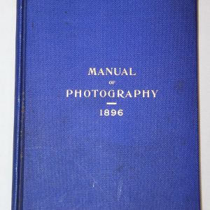 A012. RARE U.S. ARMY 1896 MANUAL OF PHOTOGRAPHY