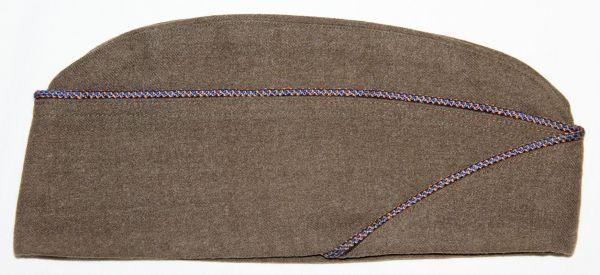 C020. WWII AAF PIPED WOOL OVERSEAS, GARRISON CAP