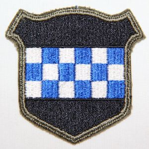 G066. WWII 99TH INFANTRY DIVISION PATCH