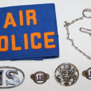 S028. KOREAN WAR ERA USAF AIR POLICE GROUPING