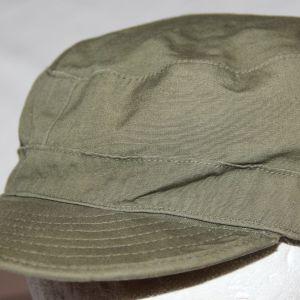 T056. PRE VIETNAM OD POPLIN PATROL CAP 1958 DATED