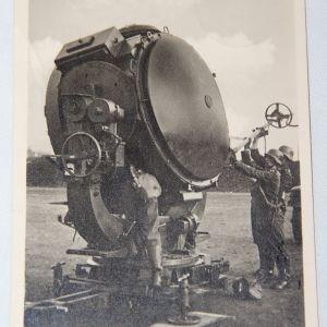 R088. WWII GERMAN FELDPOST LUFTWAFFE SEARCHLIGHT POSTCARD