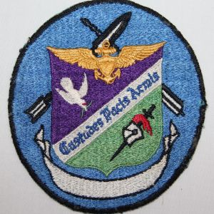 S034. KOREAN WAR U.S. NAVY VF-112 FIGHTER SQUADRON CHEST PATCH