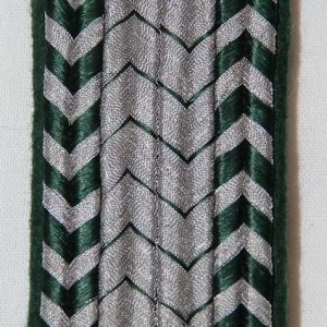 O.057. WWII GERMAN CUSTOMS OFFICIAL SHOULDER BOARD