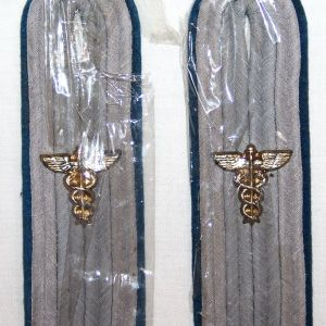 O.071. WWII GERMAN ADMINISTRATIVE ZAHLMEISTER SHOULDER BOARDS