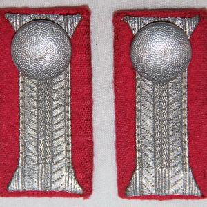 O.077. WWII GERMAN ARMY PANZER DRESS UNIFORM CUFF FACINGS