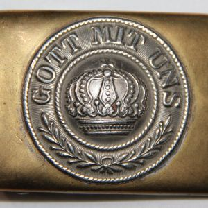 B070. WWI GERMAN, PRUSSIAN COMBAT BELT BUCKLE