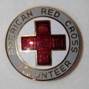 I026. WWII AMERICAN RED CROSS VOLUNTEER PIN