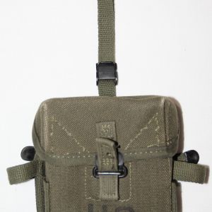 T062. NICE VIETNAM 1965 DATED SMALL ARMS AMMUNITION POUCH