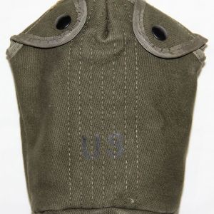 T066. VIETNAM 1969 DATED OD WEB CANTEEN COVER WITH NYLON TRIM